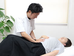 動脈への施術