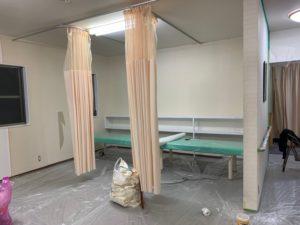 リフォーム中 施術室