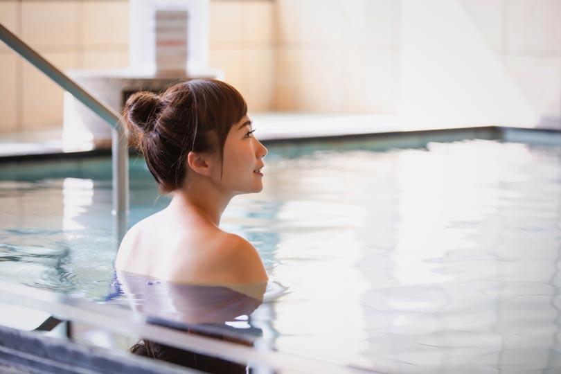 温泉と腰痛