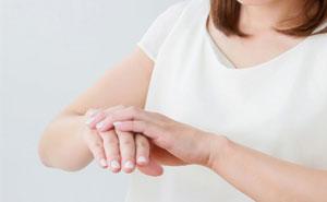 長期間に及ぶ主婦湿疹