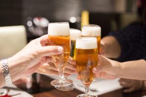 ビール 乾杯